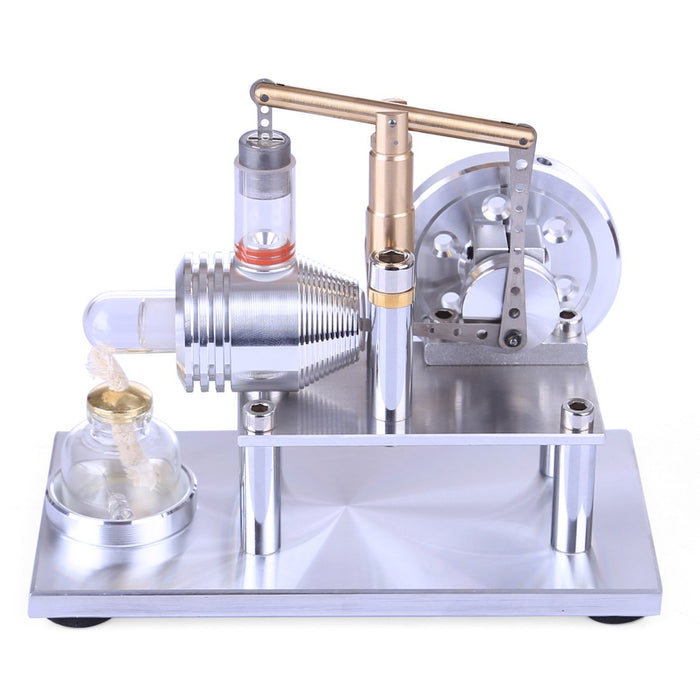 Stainless Steel Balance Stirling Engine Motor Model Science Toy - Enginediy