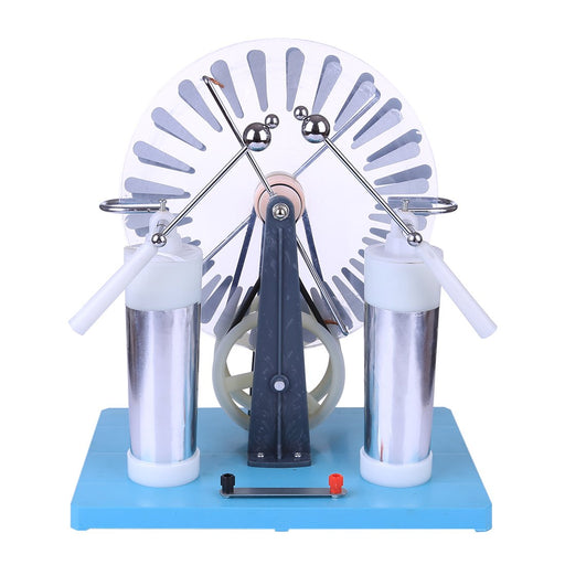 Wimshurst Machine Physics Electrostatic Generator Model for Science Education - enginediy