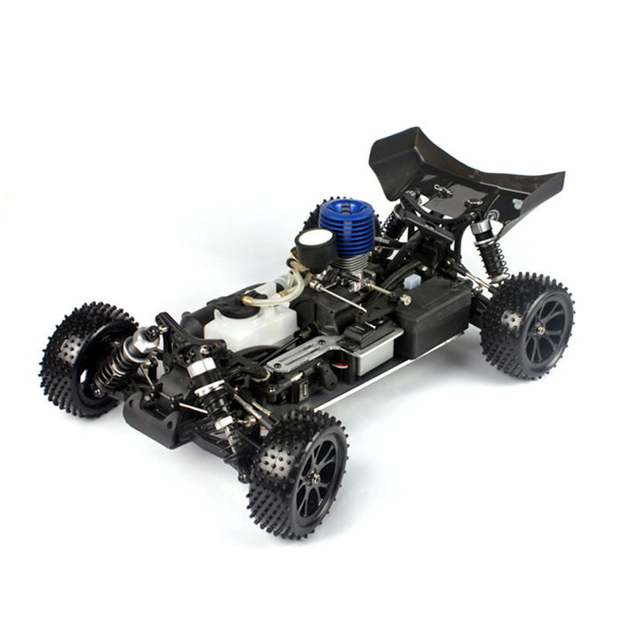 VRX RH1006 RC Car 1/10 2.4G 4WD 75km/h High Speed Force 18 Gas Engine RTR Truck - Blue