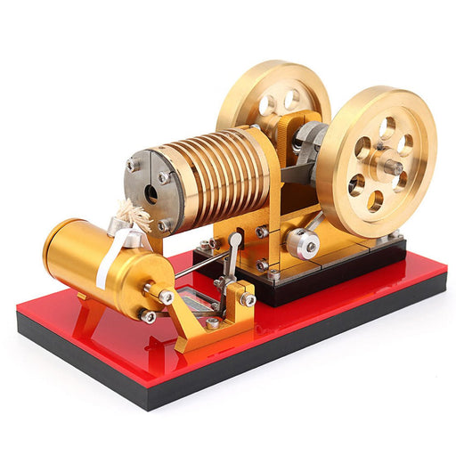 enginediy Vacuum Engine Flame Eater Engine SH-02 Vacuum Engine Model Educational Discovery Toy Kits