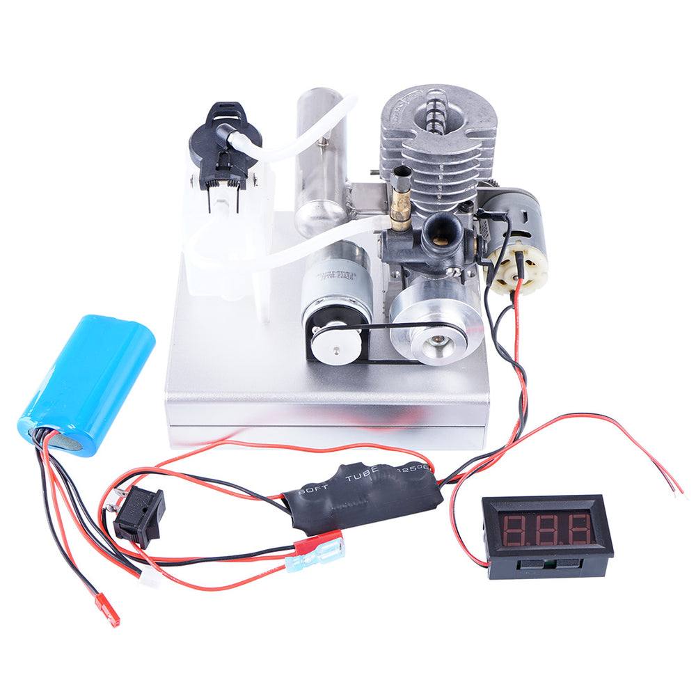 Level 15 Low Voltage Motor One Button Start Methanol Engine Electric Generator - Enginediy - enginediy