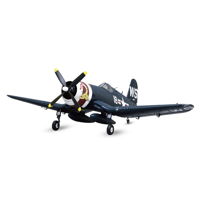 1100mm F4U-4 Corsairs Fighter RC Plane Electric Airplanes Model Assembly Fixed-wing Aircraft - PNP Version - enginediy