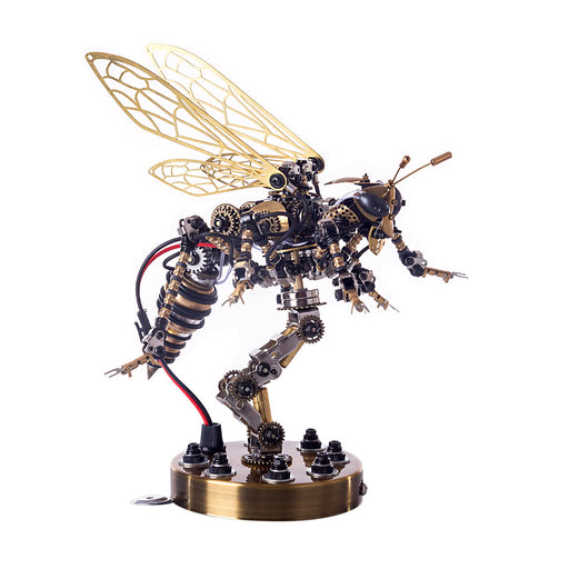 Sound Control 3D Puzzle Model Kit Mechanical Wasp  Metal Assembly DIY Model Jigsaw Crafts - enginediy