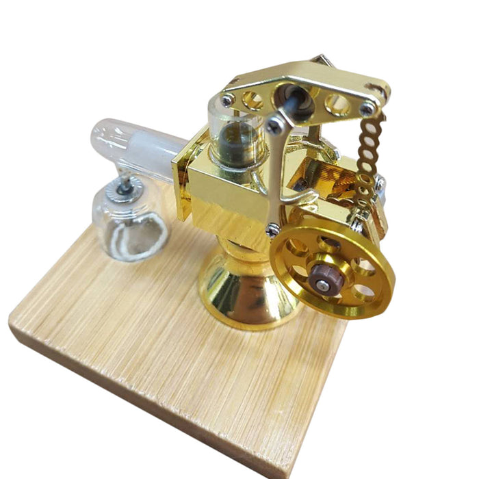 Hot Air Stirling Engine Model Mini Science Experiment Engine
