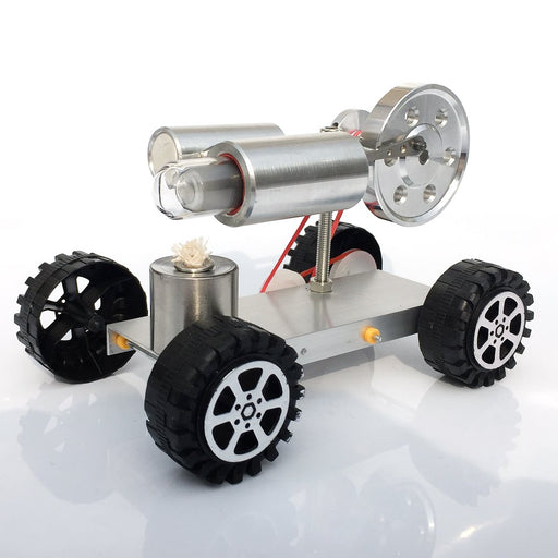 enginediy Engine Models Stirling Engine Model Car Driving Science Experiment Kid Gift Collection Enginediy