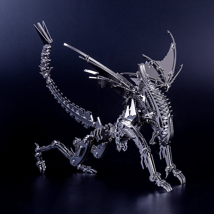 3D Puzzle Model Kit Winged Beast Metal Games DIY Assembly Jigsaw Crafts Creative Gift - enginediy