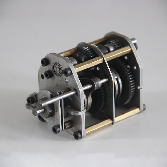 Four Gear Box Assembly DIY Modified Accessories for Methanol Engine RC Car Model