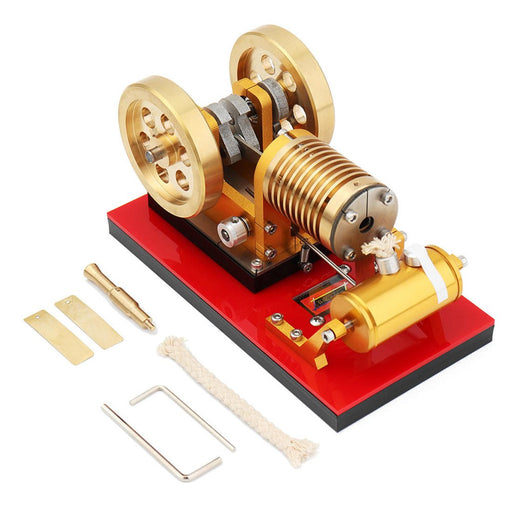 SaiHu SH-02 Flame Eater Engine Vacuum Engine Model Educational Discovery Toy Kits - enginediy