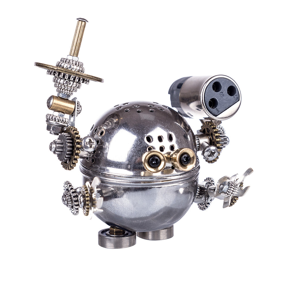 3D Puzzle Model Kit Metal Mechanical Cartoon Figure Creative Gift - enginediy