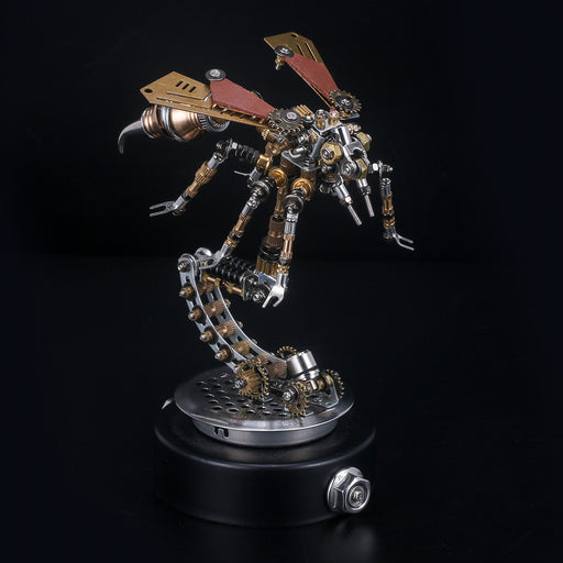 3D Puzzle Model Kit Mechanical Wasp with Holder - enginediy