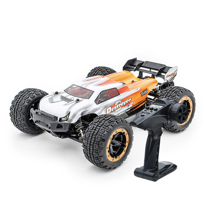 HAIBOXING 16890A 1:16 45KM/H 4WD High Speed Electric Vehicle 2.4 GHz All-Terrain RC Car Brushless Waterproof Off-Road Truck (RTR)