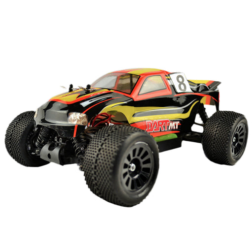 VRX RH1816 1/18 Scale 4WD Brushed RC Car Monster Turck 2.4GHz Radio Remote Control Car for Kids - R0147 Yellow - enginediy