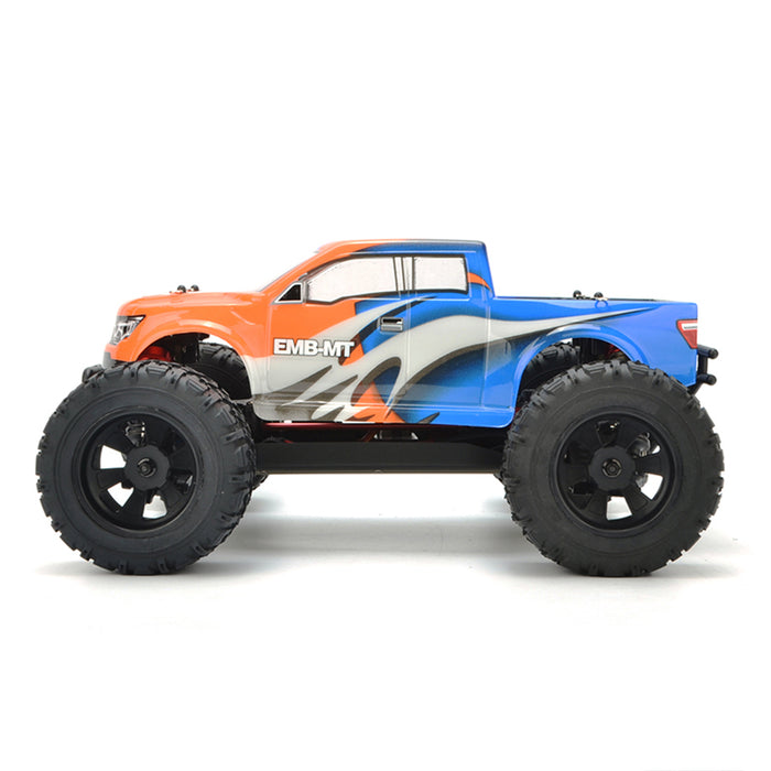 LC Racing EMB-MTH 1:14 2.4G 50+KM/H Remote Control Car 4WD Brushless Electric RC Off-road Vehicle Monster Trunk Model - RTR - enginediy