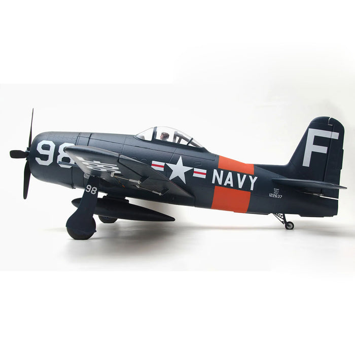 1100mm F8F Bearcat Fighter RC Plane Electric Airplanes Model Assembly Fixed-wing Aircraft - PNP Version