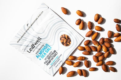 Oven Roasted Almonds: 45mg CBD / pouch