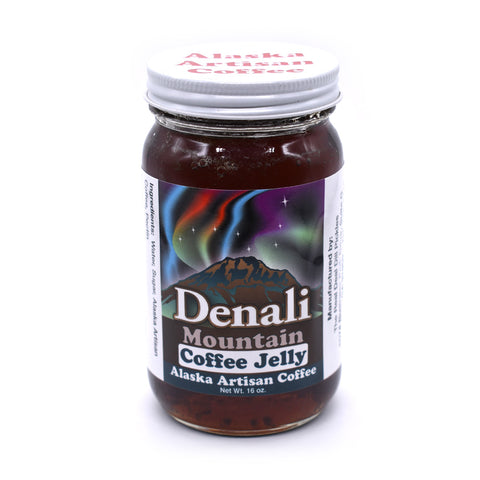 Denali Mountain Coffee Jelly