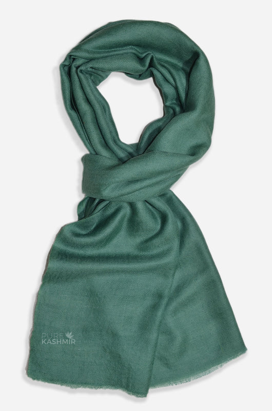 Jade Green Cashmere Scarf