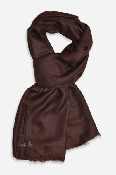 Brown Cashmere scarf/shawl
