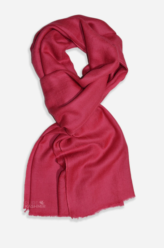 "Beautifully light and scrumptiously soft ""Blush"" Cashmere Scarf is hand woven from the highest grade of 100% pure Cashmere from Kashmir."