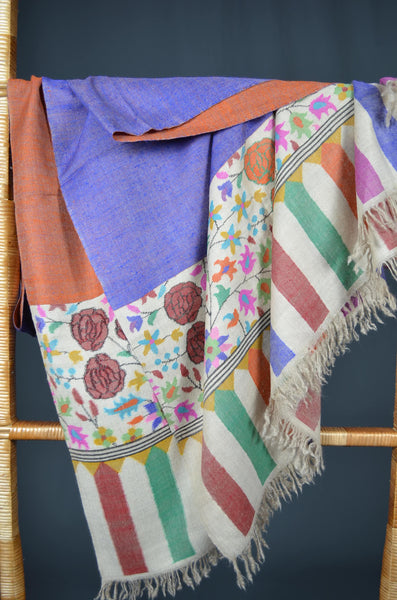 2.5 Yards Kani Reversible Pashmina Shawl