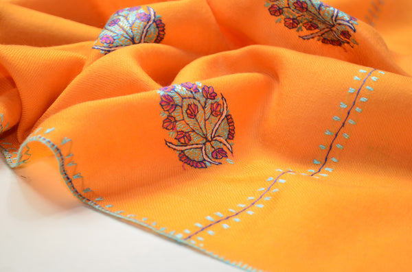 Butti Dar Embroidery Stole