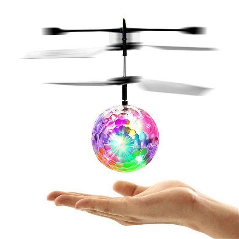 DISCO DRONE™ - Indoor LED party en speelgoed drone