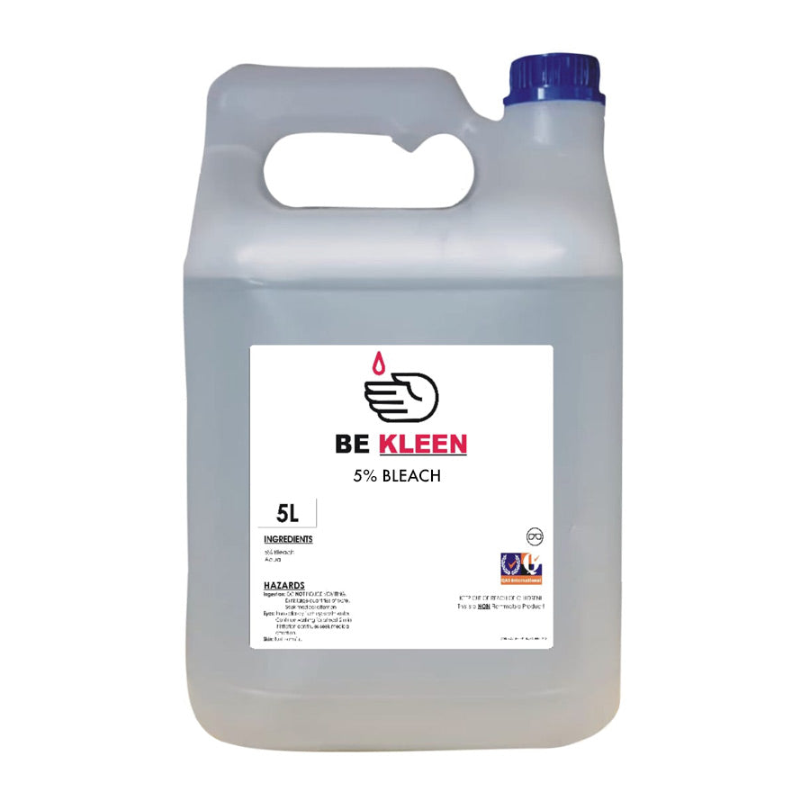 Be Kleen - 5% Liquid Bleach