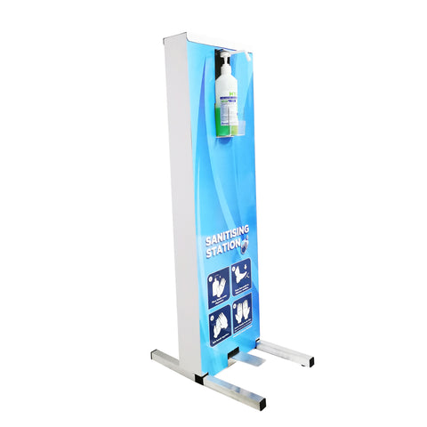500ml Foot Sanitiser Dispensing Unit + 5L Hand Sanitiser