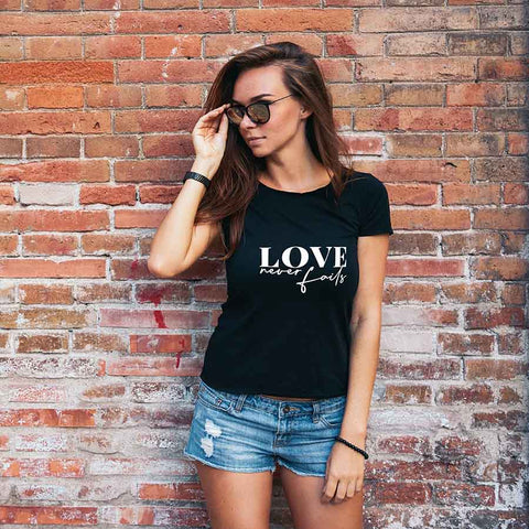 Love Never Fails T-Shirt