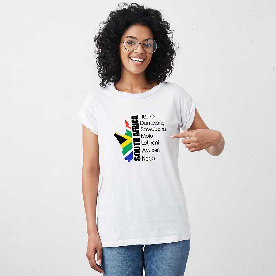Hello in South African T-Shirt