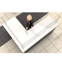 Reception Desk Screen Guards | Desk Not Included!