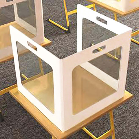 Correx Desk Screens or Shields | Type D