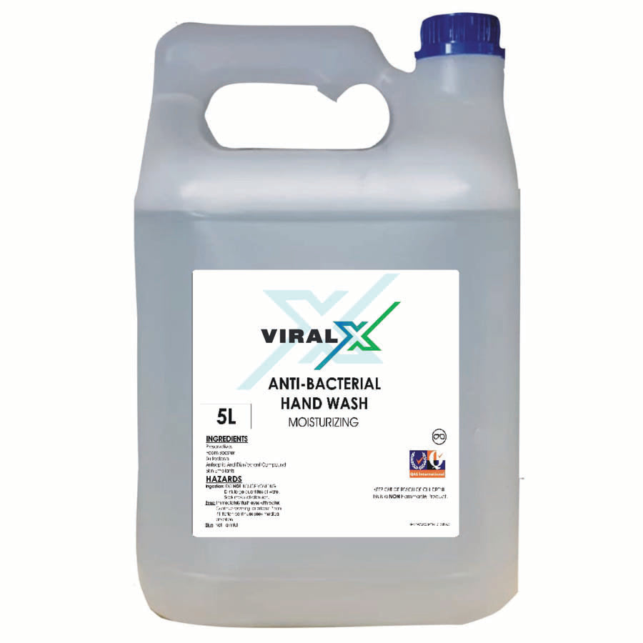 Viral X Anti-Bacterial Hand Wash | 5L