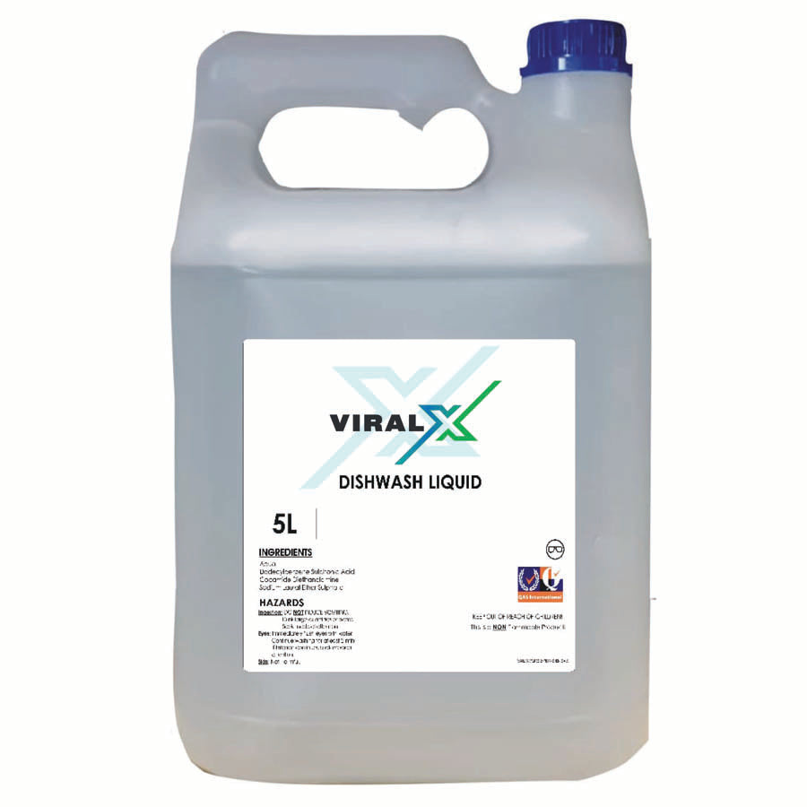 Viral X 5L Dishwash Liquid
