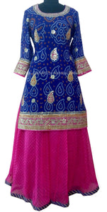 ranas-by-kshitija-bandhani-leheriya-floor-length-dress