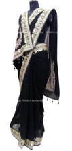 ranas-by-kshitija-beautiful-bold-black-saree