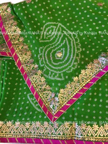 ranas-by-kshitija-beautiful-fine-gota-worked-bandhej-saree