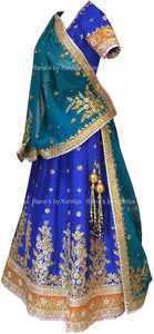 Beautiful Gota Patti Handworked Lehenga Set