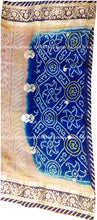 ranas-by-kshitija-blue-beige-shaded-bandhani-saree