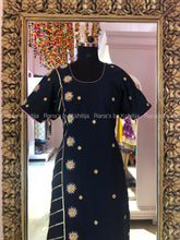Pretty Ribbon and Marodi Work Kurti