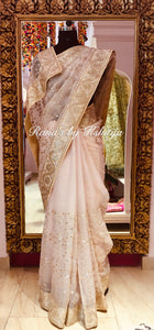 Designer Exclusive Saree in Full Jaal Design