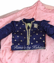 Designer Pure Organza and Silk Set for Girls - Rana's by Kshitija