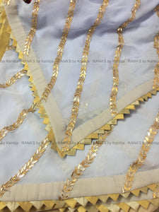 Exclusive Saree with Gota Lines Work