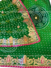 ranas-by-kshitija-gorgeous-green-bandhej-saree