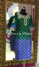 Shaded beautiful gota Patti kurti
