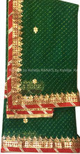 ranas-by-kshitija-green-leheriya-saree-with-danka-gota-work