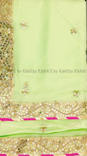 Beautiful bale (vine) work gota saree - Rana's by Kshitija