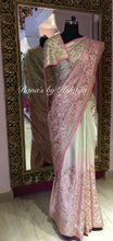 Glorious Gota Jaal Saree in Pure Satin Georgette - Rana's by Kshitija
