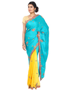 ranas-by-kshitija-shaded-pure-crepe-jacquard-saree