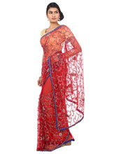 ranas-by-kshitija-radiant-red-jaal-handwork-saree